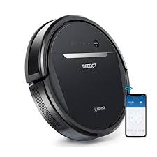 ecovacs ozmo 601 self charging robot mop vacuum with smart phone app controls