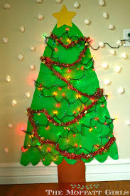 Paper Christmas Tree Lights How To Make Your Own Paper Christmas Tree Christmas Tree