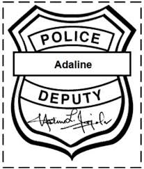 Small Picture police badge coloring pages Google Search CurrentProject