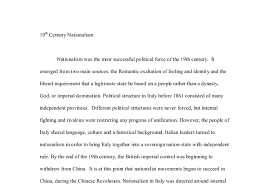 th century nationalism a level history marked by teachers com document image preview