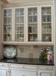 Glass Door Cabinet Kitchen Design Glass For Kitchen Cabinets Custom Glass Cabinet