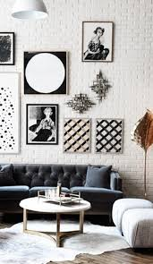 Black And White Gallery Wall Ideas
