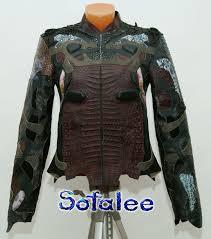 exclusive women 39 s crocodile python jacket 000 exclusive leather