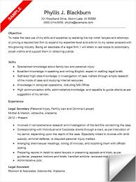 52 Recent Family Law Attorney Resume Sample Template Free