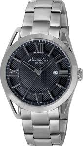 men s kenneth cole new york stainless steel watch kc9372