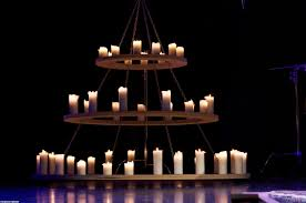top 52 superlative furniture large round wood and iron chandelier with candles hanging from ceiling chains