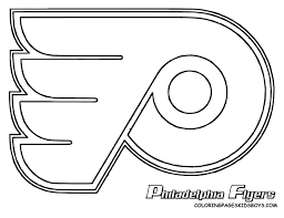 Nhl Hockey Logos Coloring Pages