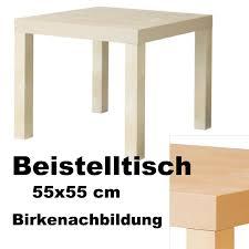 Ikea Couchtisch Beistelltisch Tisch Abstelltisch Deko Birke 55x55cm