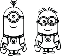 Minion Coloring Sheets Minions Printing Pictures Minion Coloring