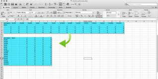 Excel Quick Tips How To Flip Cells Switch Rows Or Columns