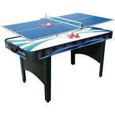 Design Table Tennis 6ft Typhoon 2in1 Air Hockey Table Tennis