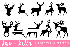 You can use our images for unlimited commercial purpose without asking permission. Reindeer Svg Bundle Christmas Svg 915819 Cut Files Design Bundles