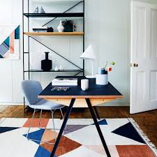 smart home office. Smart Home Office With Geometric Designs S