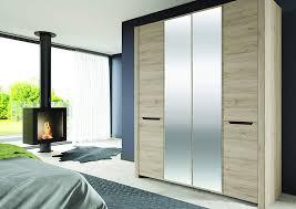 4 Door Cupboard Designs For Bedrooms Amazon Brand Movian Mira 4 Door Wardrobe With Mirror 181