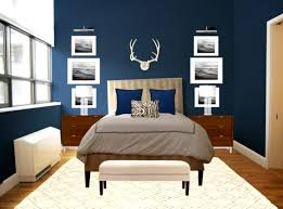 Dark Blue And Brown Bedroom Ideas Bedroom - Dark blue bedroom