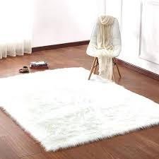 white faux fur rug small faux fur rug faux fur white rug furniture marvelous white rug white faux fur rug
