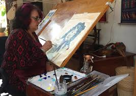 judy baca world renowned painter and muralist community arts pioneer scholar and educator has taught art in the university of california system for over