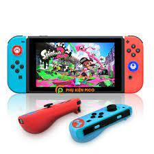 Bộ bọc Joy-con và bọc Analog dành cho máy chơi game Nintendo Switch chất  liệu silicone cao cấp