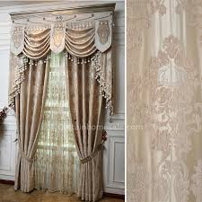 living room curtains with valance. LuxuryVictorian Living Room Curtain In Beige Color Without Valance Curtains With I