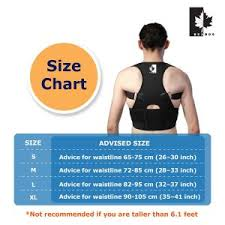 Size Chart A Good Stance And Posture Reflect A Proper