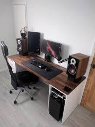 Home office cool desks Solid Wood Office Cool Desks Elegant 40 Best Pc Gaming Desk Design Of Cool Gaming Desks Gaming Archtoursprcom Office Luxury Cool Desks Cool Old Desks Cool Gaming Desks Cool