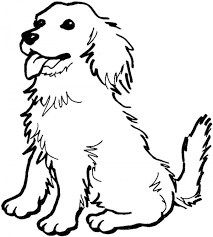 Small Picture Coloring Pages Of Dog Dog nebulosabarcom