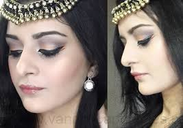 colourful arabic makeup tutorial finished look