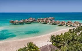 palafitos overwater bungalows gourmet all inclusive at el dorado maroma s only playa