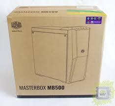 Обзор <b>корпуса Cooler Master</b> MasterBox MB500 (MCB-B500D ...
