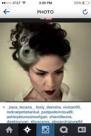 bride of frankenstein hair ideas