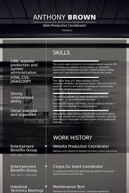 Website Production Coordinator Resume samples