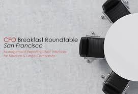 cfo roundtable