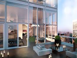 $60 million penthouse duplex is part of Midtown's new 50-story Baccarat  Hotel and Residences