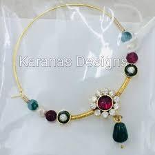 Gold Nose Ring Designs For Bridal