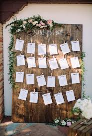 Seating Chart Ideas Wedding Seating Chart Ideas Large Farm Wood Find Your Seat