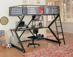 full loft bed with desk functional full size loft bed with desk