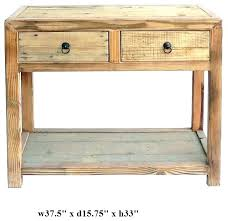 accent table with drawers small accent table with drawer wooden side table with drawer raw wood