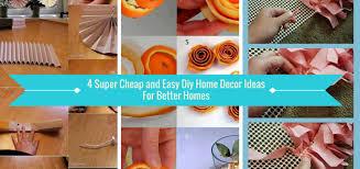 easy diy home decorating ideascheap and easy diy home decor ideas