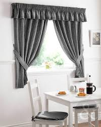 Yellow Gingham Kitchen Curtains Kitchen Room Gingham Black Cool Features 2017 Kitchen Curtains