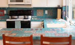 tile countertops make a comeback know your options intended for kitchen idea 10