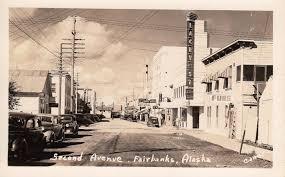 Street Scene of Second Avenue in Fairbanks Alaska - RPPC - Mailed to Mrs. Myrtle  Pearson Jones - 1304 Grant Street, Danville,… | Alaska, Fairbanks alaska,  Fairbanks