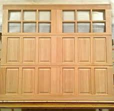8x7 garage door8x7 Wood Carriage House Overhead Garage Door AmanaDoors Model