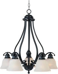 maxim lighting linda 5 light down light chandelier in black transitional chandeliers chandeliers