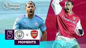 Manchester City vs Arsenal | Top 5 Premier League Moments | Aguero, Henry,  Adebayor - YouTube