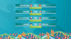 Confermati i quarti di finale di UEFA EURO 2020 | UEFA EURO 2020