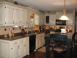 painted kitchen cabinets with black appliances. Exellent With Classic White Cabinet For Traditional Kitchen Plan With Chic Black  Appliances And Painted Cabinets H
