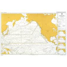Admiralty Chart 5127 11 Routeing North Pacific Ocean November