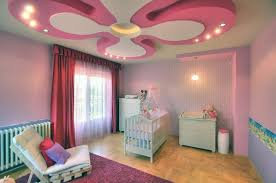 fascinating modern pink nursery room interior design ideas for baby girl with delightful purple paint wall baby girl nursery furniture