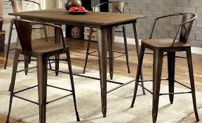 Asian pub table chairs black