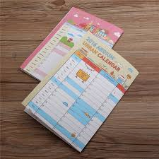 new lovely 2016 desk pad wall schedule 365 days target table calendar planners office daily yearly